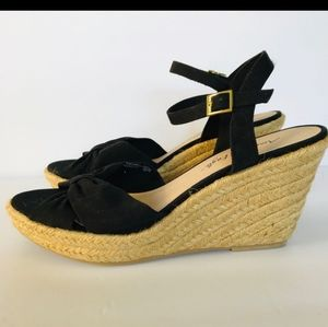 American Eagle Wedge Espadrilles